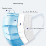 Surgical mask diagram