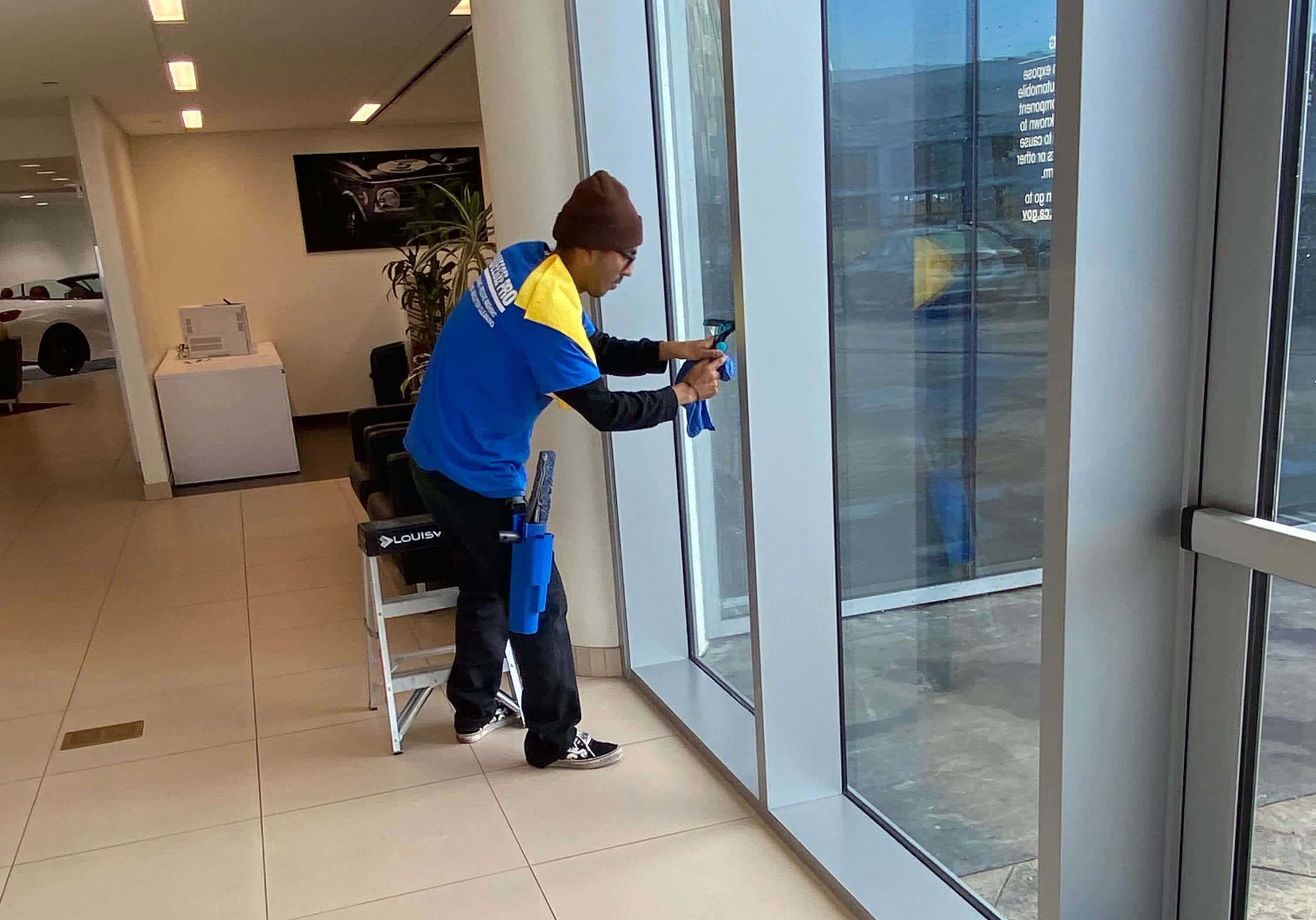 Orange County Commercial Window Cleaning
