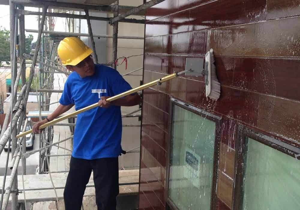 Orange County Squeegee Pro Construction Clean Up