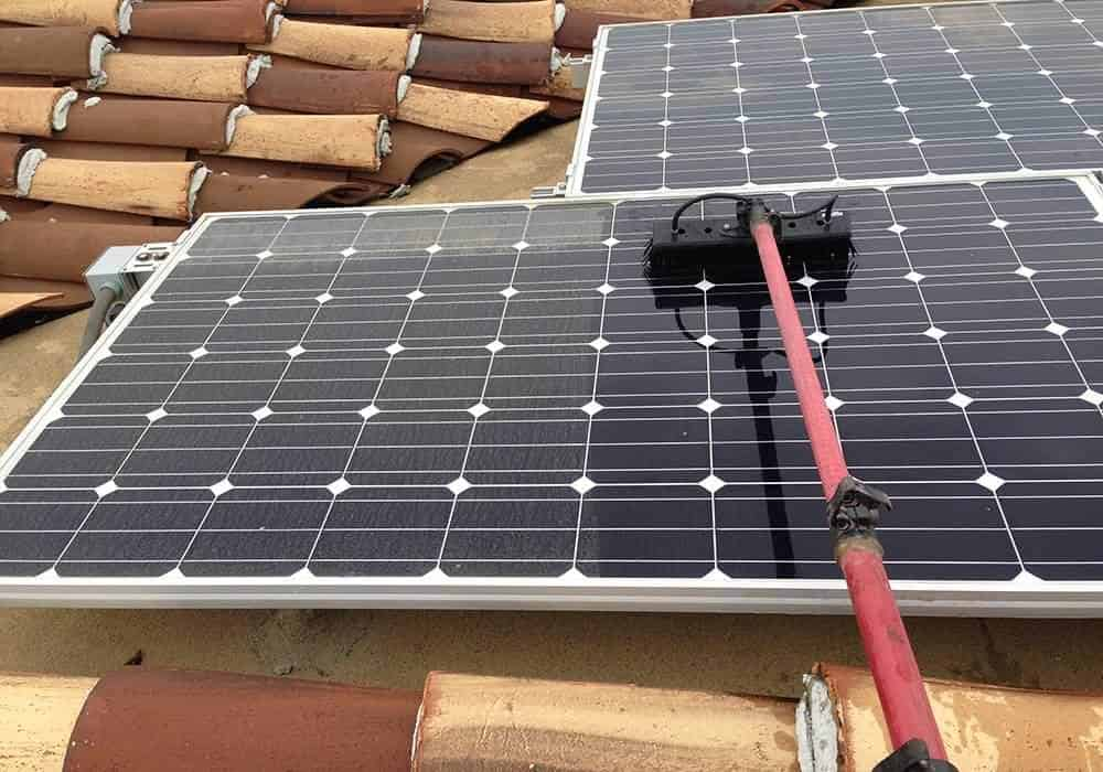 Squeegee Pro Orange County California Solar Panel Cleaning