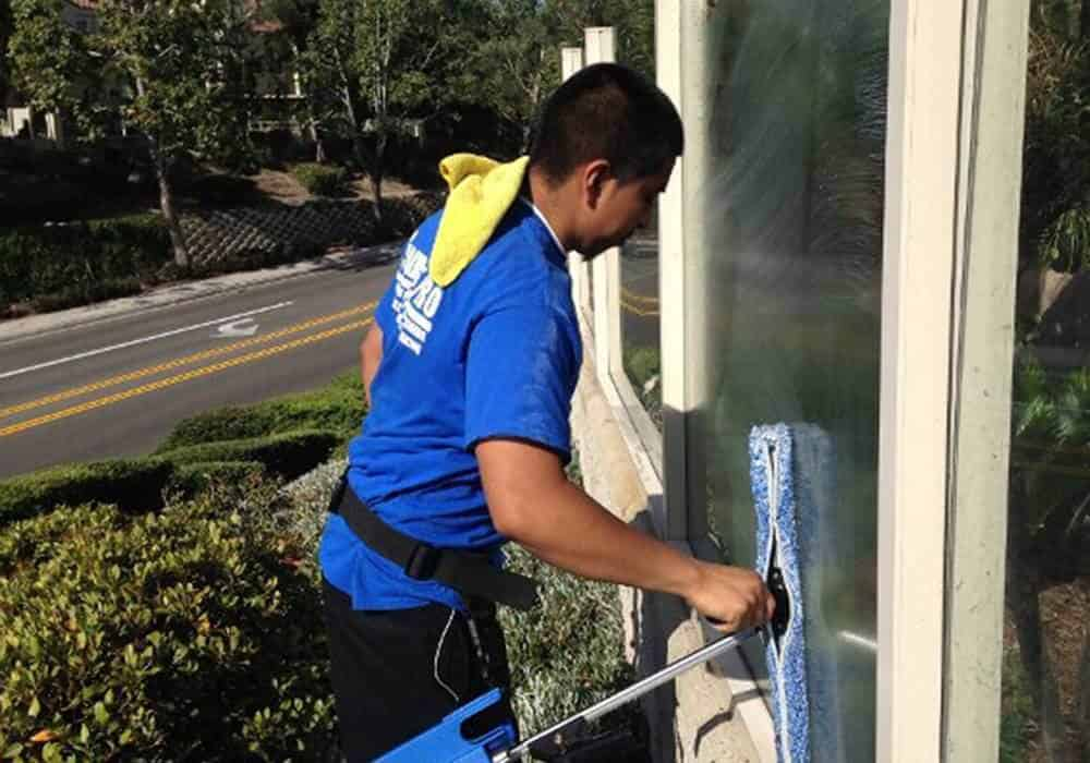 squeegee pro window cleaning orange county wind wall cleaning